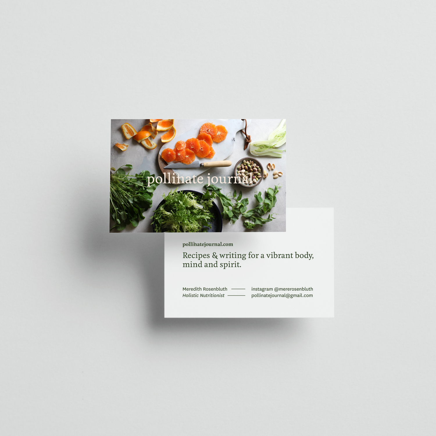 pollinate-journal-business-card
